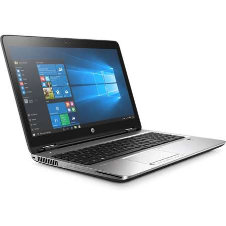Laptop HP Probook 650 G3 15.6 inch Full HD Intel Core i5-7200U 8GB DDR4 500GB HDD FPR Windows 10 Pro Black