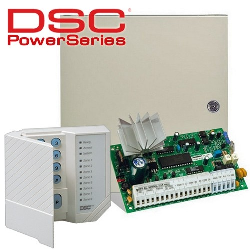 Centrala alarma antiefractie Power PC 585 cu tastatura thumbnail