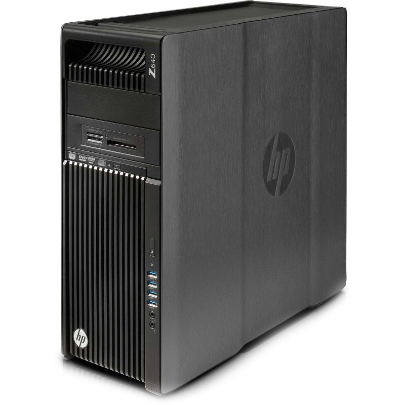 Sistem desktop Z640 Intel Xeon E5-2620 v4 16GB DDR4 2TB HDD 256GB SSD Windows 10 Pro Black