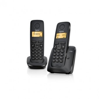 Telefon fara fir DECT A120 Duo thumbnail