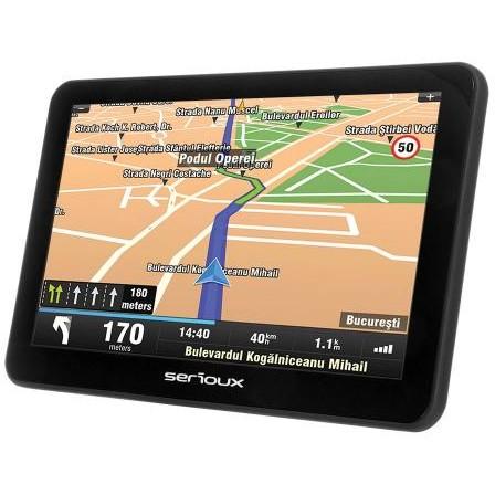 Sistem de navigatie Urban Pilot UPQ700 7.0 harta Europei Mireo Don't Panic Actualizari pe viata a hartilor thumbnail