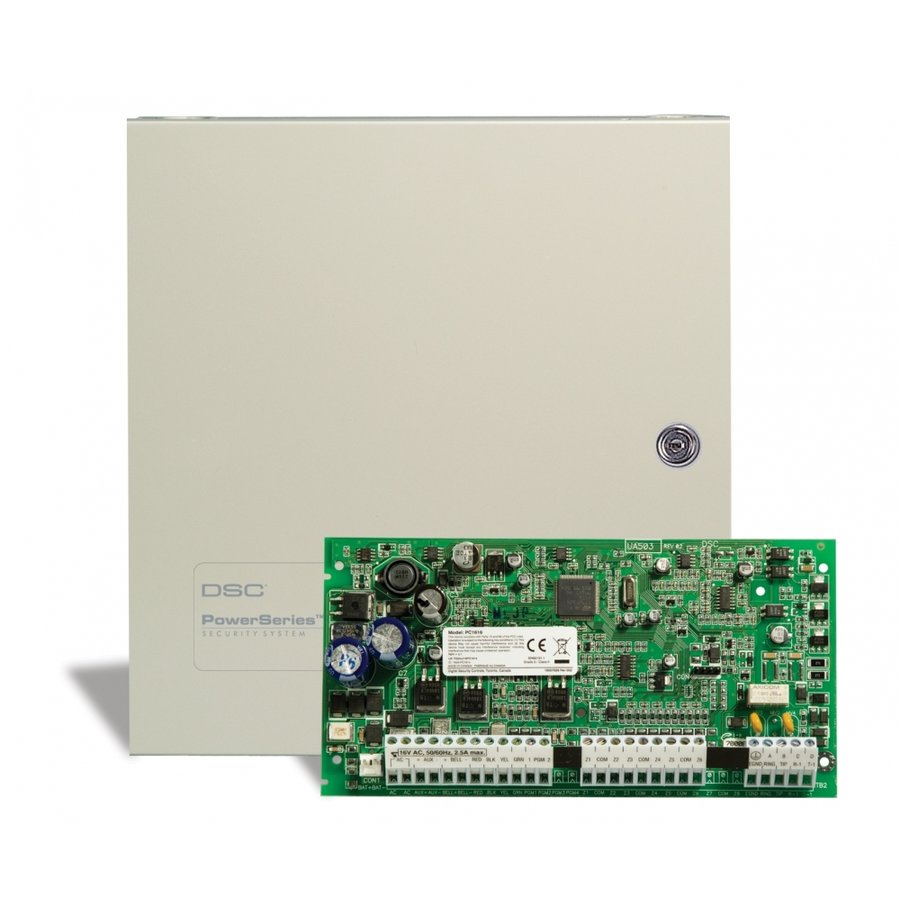 Sistem de alarma PC1616 6 ZONE + 1 ZONA PE TASTATURA thumbnail