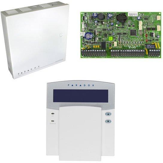 Sistem de alarma EVO192+TAST.K641+CUTIE MET. thumbnail