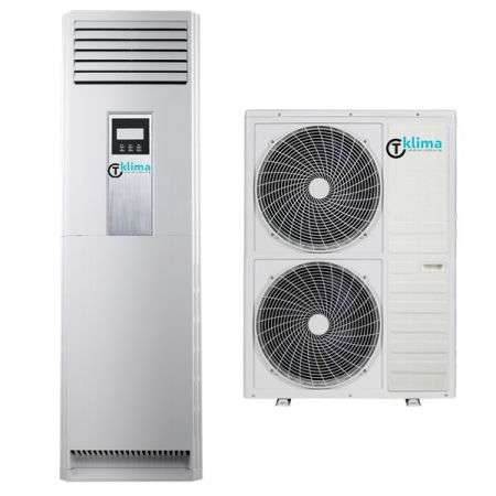 Aparat de aer conditionat tip coloana T klima AC-48TK-T ON/OFF 48000BTU D Alb