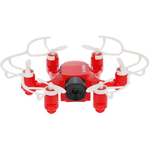 Drona 126 Spider Hexacopter Camera HD 2.0Mp Rosu thumbnail