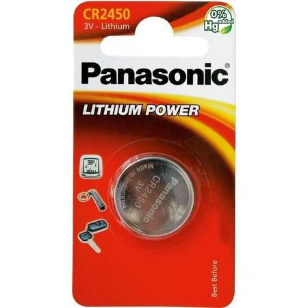 Baterie Panasonic Lithium Power CR2450 Blister 1 buc
