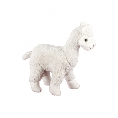Jucarie de plus MomKi Alpaca 19 cm