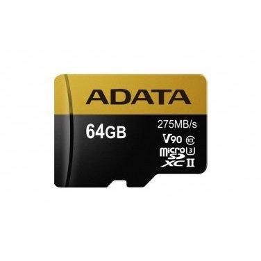 Card microSDXC Premier One V90 64GB Class 10 UHS-II U3 275MB/s thumbnail