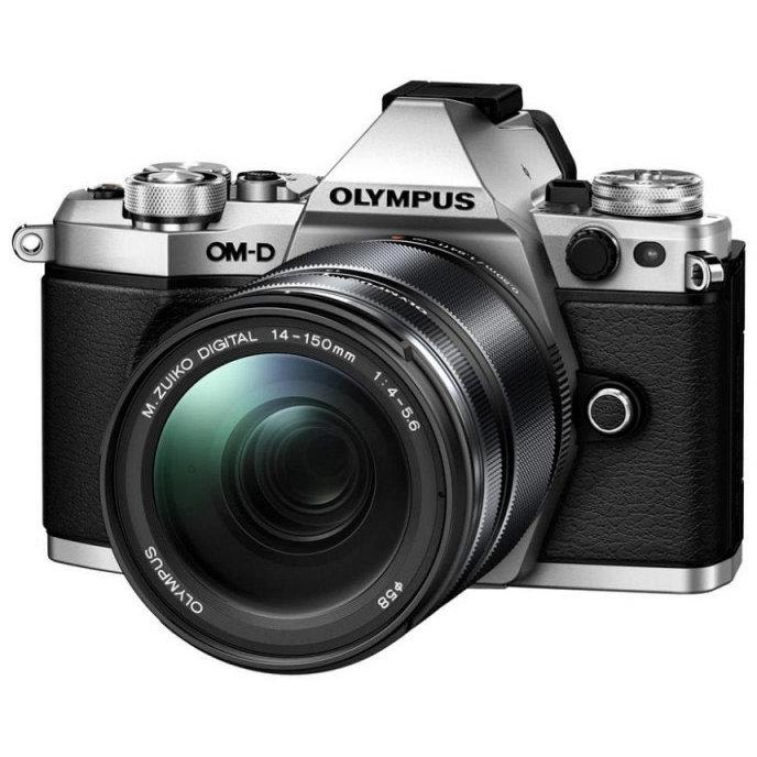 Aparat foto Mirrorless OM-D E-M5 Mark II 16 Mpx Silver Kit 14-150mm thumbnail