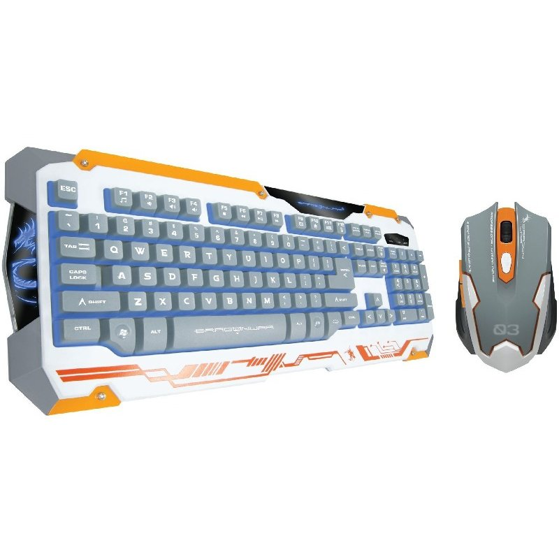 Kit tastatura si mouse Sencaic Combo Set White thumbnail