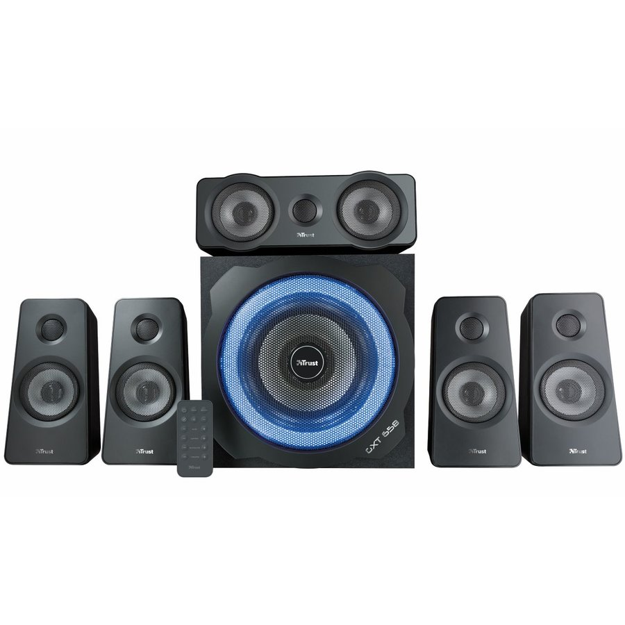 Sistem Audio 5.1 Gxt 658 Tytan 180w Negru