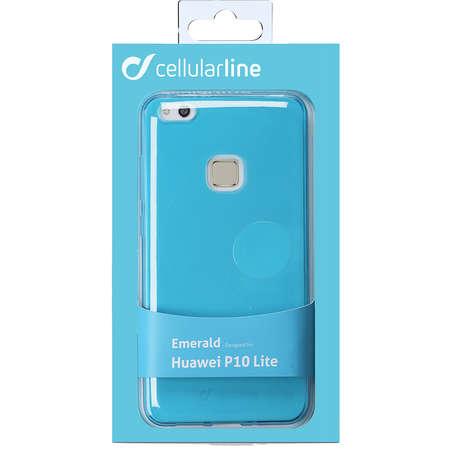 Husa Protectie Spate Cellularline COLORCP10LITEG Color Verde pentru HUAWEI P10 Lite