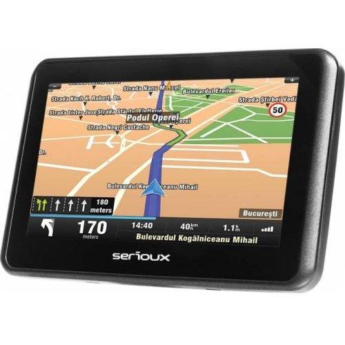 Sistem de navigatie Urban Pilot UPQ430 4.3 harta Europei Mireo Don't Panic + Actualizari pe viata a hartilor thumbnail