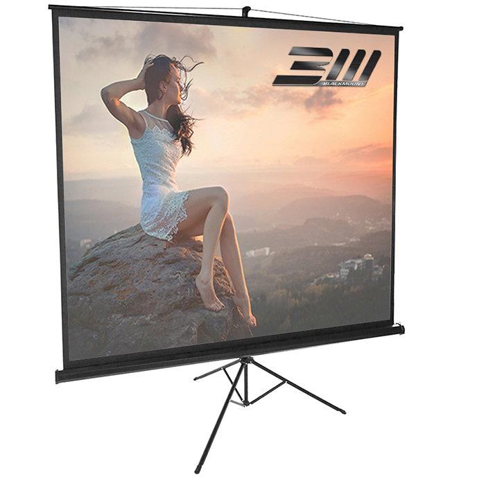 Ecran proiectie trepied 180 x 180 cm
