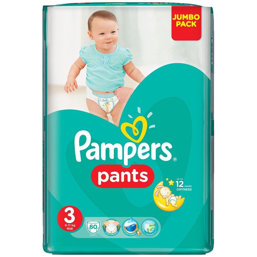 Scutece Active Baby Pants 3 Jumbo Pack 60 buc thumbnail