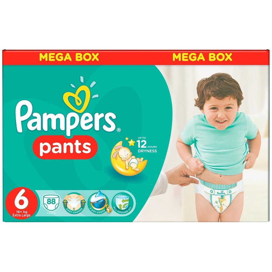Scutece Active Baby Pants 6 Mega Box Pack 88 buc thumbnail