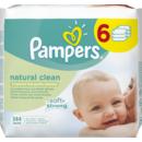 Natural Clean 384buc (6pk*64buc)