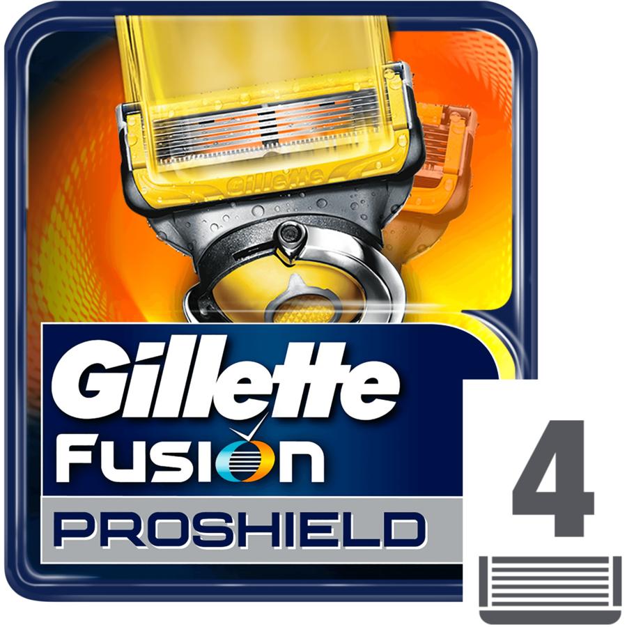 Rezerva aparat de ras Fusion Proshield 4 buc