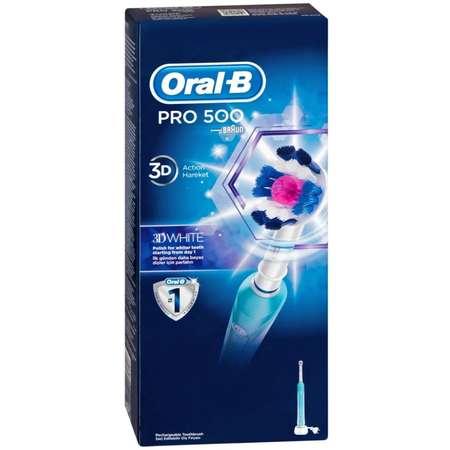 Periuta de dinti electrica Oral-B PRO 500 3D White