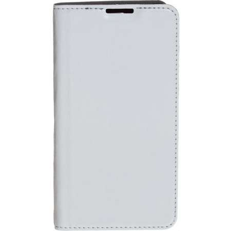 Husa Flip Cover Tellur Folio PU Premium pentru LG K8 White