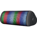 Dixxo Delta Wireless Bluetooth Speaker cu Lumini de petrecere 8W Negru