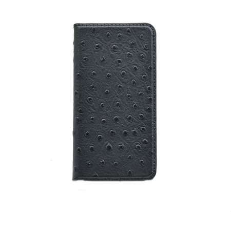 Husa Flip Cover Tellur Book magnetica piele de strut pentru iPhone 5/5S/SE Negru