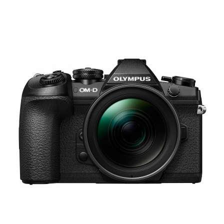 Aparat foto Mirrorless Olympus OM-D E-M1 Mark II 20 Mpx Black Kit EZ-M1240 PRO