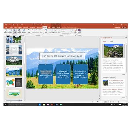 Office 365 Home Microsoft 32 64 biti Engleza Subscriptie 1 an  5 utilizatori