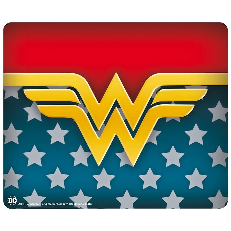 Mousepad Wonder Woman Logo Shape
