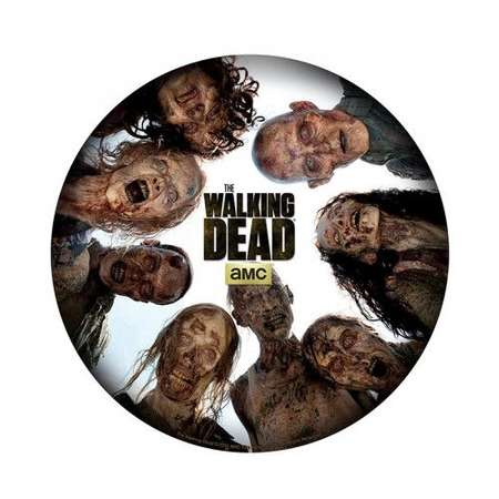 Mousepad ABYStyle The Walking Dead Round of zombies Shape