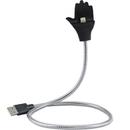 Lightning la USB plus suport telefon argintiu