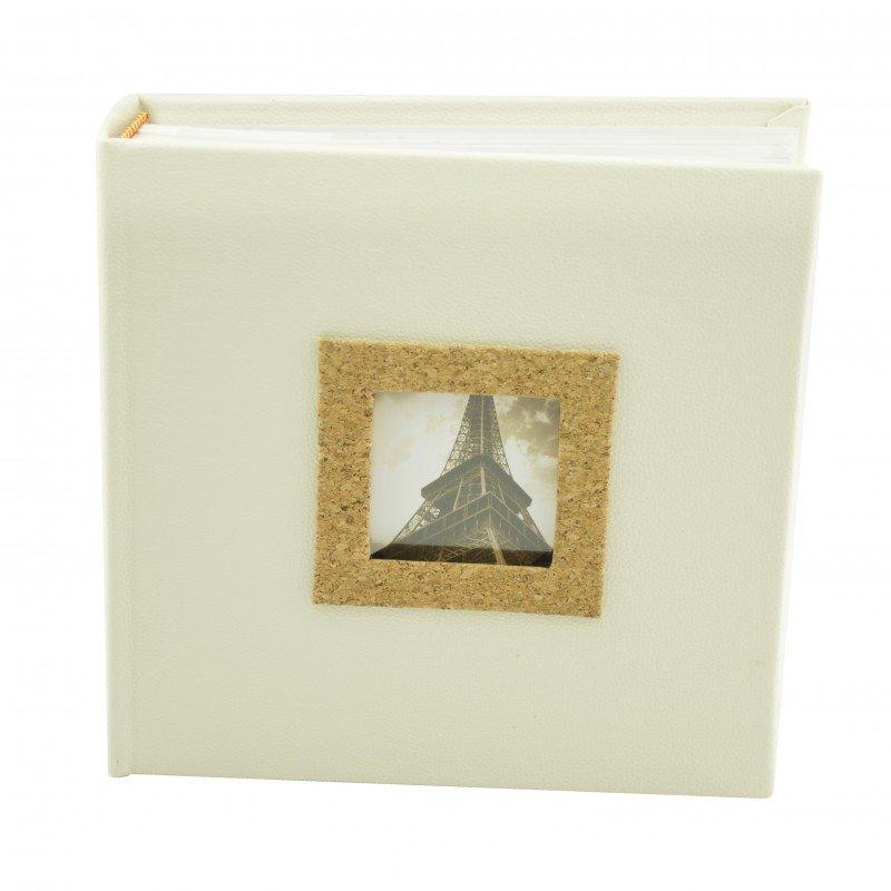 Album foto cork piele ecologica 200 fotografii culoare ivory thumbnail