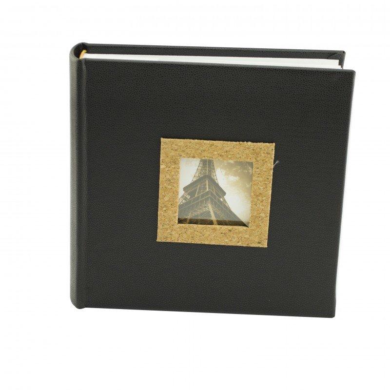 Album foto cork piele ecologica 200 foto culoare negru thumbnail