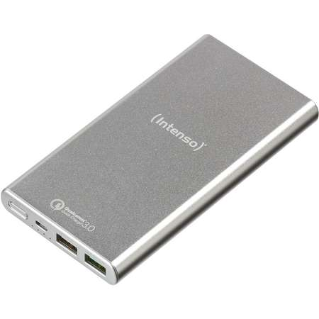 Acumulator extern Intenso Power Bank Q10000 Quick Charge 10000 mAh Silver