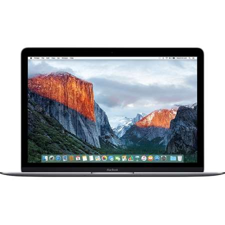Laptop Apple MacBook 12 Retina Intel Core i5 1.3 GHz Dual Core Kaby Lake 8GB DDR3 512GB SSD Intel HD Graphics 615 Mac OS Sierra Space Grey RO keyboard