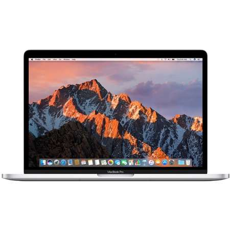 Laptop Apple MacBook Pro 13 Retina Intel Core i5 2.3 GHz Dual Core Kaby Lake 8GB DDR3 256GB SSD Intel Iris Plus 640 Mac OS Sierra Silver INT keyboard