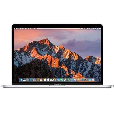 Laptop Apple MacBook Pro 15 Touch Bar Intel Core i7 2.9 GHz Quad Core Kaby Lake 16GB DDR3 512GB SSD AMD Radeon Pro 560 4GB Mac OS Sierra Silver INT keyboard
