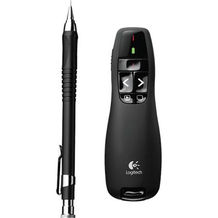 Presenter Logitech R400 wireless Black