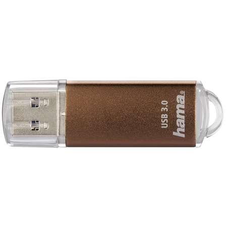 Memorie USB Hama Laeta 64GB USB 3.0 Brown