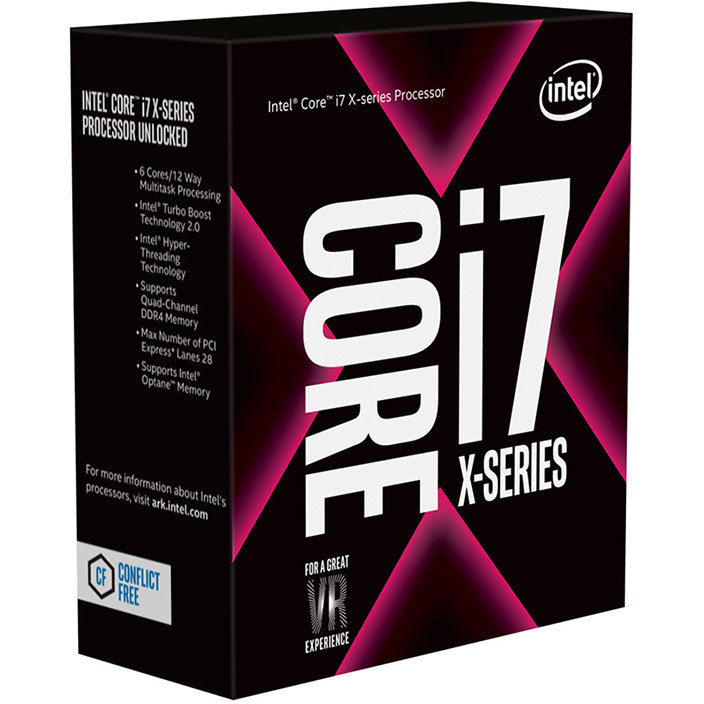 Procesor Core I7-7820x Octa Core 3.6 Ghz Socket 2066 Box