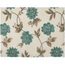 Home Flori Albastre 35 x 45 cm bumbac