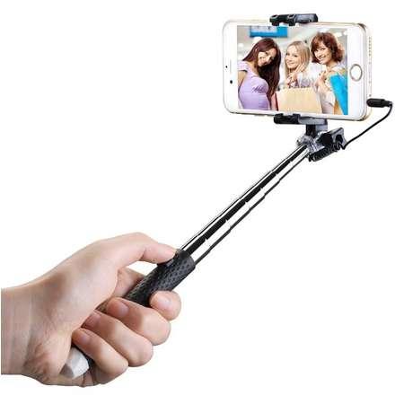 Selfie stick Mpow MBT22B Mini Black