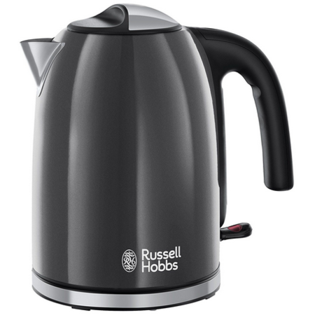 Fierbator Russel Hobbs 20414-70 Colours Plus 2400W 1.7l Storm Grey