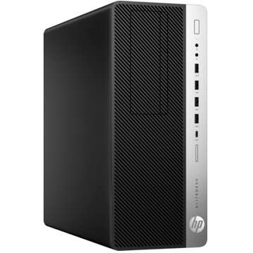 Sistem desktop HP EliteDesk 800 G3 Tower Intel Core i5-7500 8GB DDR4 256GB SSD Windows 10 Pro