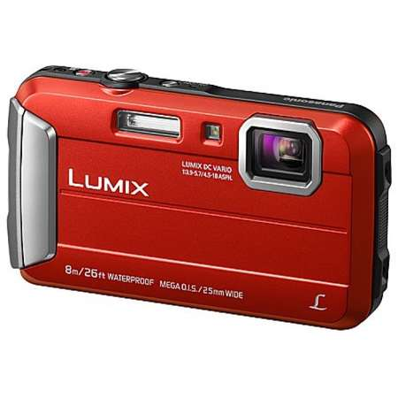 Aparat foto Panasonic DMC-FT30EP-R 16.1 MP Rosu