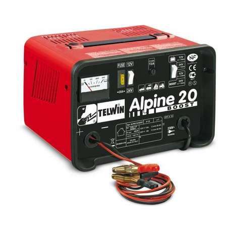 Redresor auto Telwin ALPINE 20 BOOST 230V Rosu