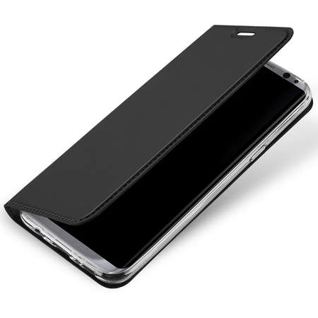 Husa Flip Cover ZMEURINO WALFOLCIX_SGC5BK Card Slot Negru pentru SAMSUNG Galaxy C5