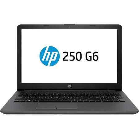 Laptop HP 250 G6 15.6 inch HD Intel Celeron N3060 4GB DDR3 128GB SSD Dark Ash Silver