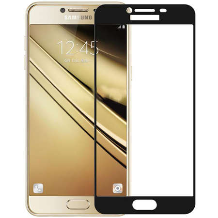 Folie protectie ZMEURINO TEMPFULLCIX_SGC5BK Sticla Securizata Full Body Negru pentru SAMSUNG Galaxy C5