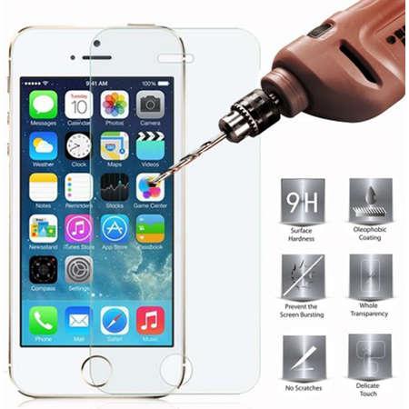 Folie protectie ZMEURINO TEMPCIX_IP5 Sticla Securizata Clasica pentru APPLE iPhone 5, iPhone 5s